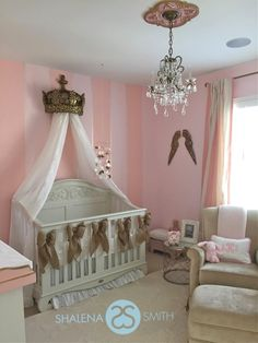 Tamera Mowry Nursery for baby Ariah