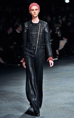 Givenchy Inverno 2014   Punk - Referências Inverno 2014