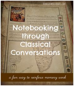 Notebooking and Classical Conversations