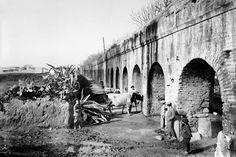 Acueducto de Carmona. Sevilla, 1906-1910. Colección Thomas / IEFC