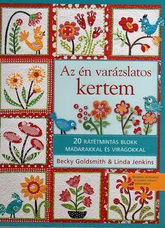 """az en varazslatos kertem""-patchwork with applique"