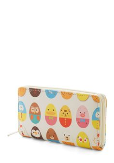 Too Cute for Herds Wallet. When the bustling crowds dwindle, swoop into the boutique's grand opening with this adorable wallet as your companion. #multi #modcloth