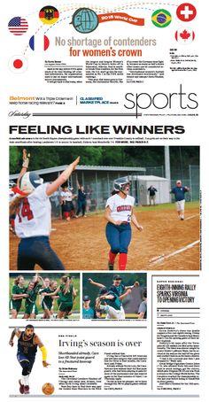 Sports, June 6, 2015.