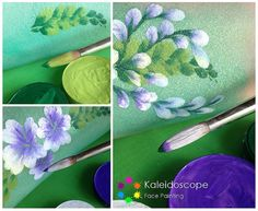 Step by Step Treble Dipping by Jennifer Parker @ Kaleidoscope Face Painting, via Flickr