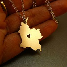 Colombia sterling silver necklace sterling silver by StefanoArt. I so need this dije! Colombia Map, Colombia South America, Colombia Travel, Fine Jewelry, Women Jewelry, Leaf Pendant, Sterling Silver Necklaces, Gifts For Women, Best Gifts