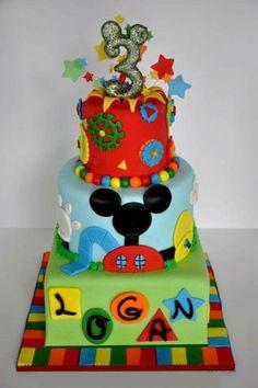Dulce de la Casa de Mickey Mouse / Micley Mouse Birthday Party Ideas