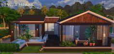 Sims My Homes: Villa Hanna • Sims 4 Downloads