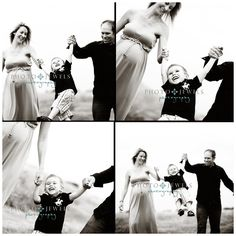 Mason, Mom, Dad & soon-to-be-here Baby Sister! Maternity Photography Poses, Maternity Poses, Maternity Photographer, Couple Photography, Children Photography, Photography Ideas, Family Maternity Photos, Maternity Pictures, Pregnancy Photos
