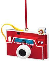 Department 56 Fisher Price Camera Ornament