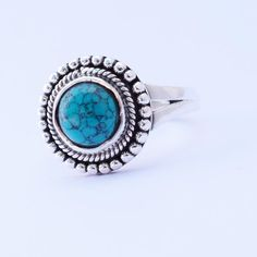 Turquoise gemstone ring Turquoise Gemstone, Turquoise Jewelry, Silver Jewellery, Sterling Silver Jewelry, Kelly S, Gemstone Rings, Christmas Gifts, Gift Ideas, Natural