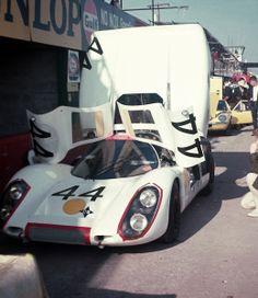 Porsche race car at  Sebring