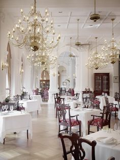 The iconic Raffles Hotel is celebrating its 125th Anniversary. Join the celebrations yourself with with a Singapore Sling in the hotel's famous Long Bar.