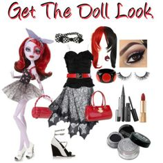 Get The Doll Look - FUN POLYVORE CHALLENGE