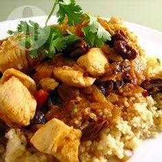 Fruity chicken curry @ allrecipes.co.uk