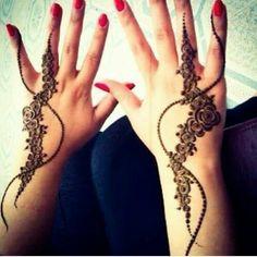 Eid Mehndi-Henna Designs for Girls.Beautiful Mehndi designs for Eid & festivals. Collection of creative & unique mehndi-henna designs for girls this Eid Mehndi Tattoo, Henna Tatoos, Henna Tattoo Designs Arm, Mehndi Art, Henna Mehndi, Henna Art, Easy Mehndi, Paisley Tattoos, Henna Mandala
