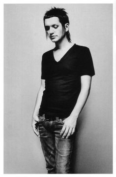 Brian Molko - Placebo - like him don't like him he does have effortless style