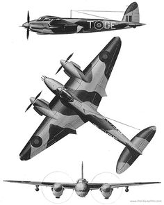 De Havilland Mosquito, Old Warrior, Old Planes, Heavy And Light, Aircraft Design, Military Art, Military Aircraft, World War, Fighter Jets