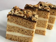 Miodownik z kremem z kaszy manny Krispie Treats, Rice Krispies, Amazing Cakes, Tiramisu, Favorite Recipes, Baking, Ethnic Recipes, Sweet, Life