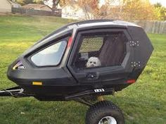 Custom pet motorcycle trailer How much for this pet trailer - Auto 2019 Pet Trailer, Bike Trailer, Atv Trailers, Tiny Trailers, Motorcycle Camping, Camping Gear, Motorcycle Adventure, Camping Hacks, Vespa
