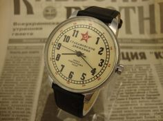 Soviet watch, Raketa watch, vintage watch, mechanical watch, ussr watch, military watch, russian watch, wrist watch, wrist watches