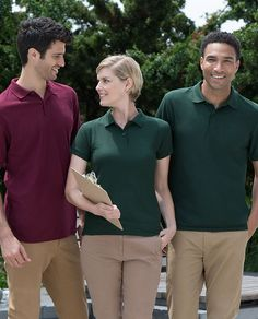 Soft and sturdy polos from Gildan