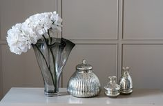 Gradual Smoke Handkerchief Vase   Kelly Hoppen London