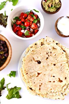 Gluten Free Tortillas made with this secret flour that makes them the tastiest tortillas you will ever taste!
