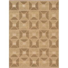 ECARPETGALLERY Impressions Braid Jute Handmade Dark Khaki/Light Brown Area Rug