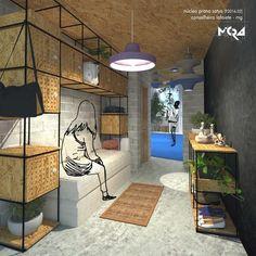 Expansão de Núcleo de Yoga em Conselheiro Lafaiete MG. _Arquitetura.Urbanismo.Mobiliário.Decoração