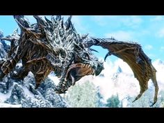 • Elder Scrolls Skyrim - Top 5 Bosses (AFTER DLC) - YouTube. Had to add this one just because of the Ebony Warrior fight! |