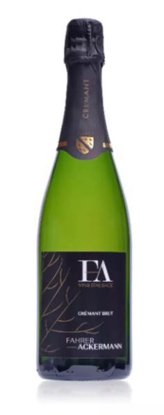 6 bouteilles CREMANT D'ALSACE Domaine FAHRER AKERMANN - Nos Vignerons/Domaine FAHRER ACKERMANN - LAlsace en Bouteille Alsace, Champagne, Drinks, Bottle, Drinking, Beverages, Flask, Drink, Jars