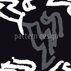 Hochqualitative Vektor-Muster auf patterndesigns.com - Aborigine Vektor Ornament, designed by Matthias Hennig