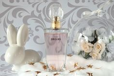 Review of Avon Dreams Eau de Parfum. It's floral woody fragrance. It has notes of watery plum, pink rose and intense wood.
