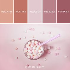 Color palettes is an important piece when it comes to branding! So many different color options! Palette Pantone, Pantone Colour Palettes, Color Schemes Colour Palettes, Colour Pallete, Pantone Color, Color Combos, Summer Color Palettes, Flat Color Palette, Pastel Colour Palette