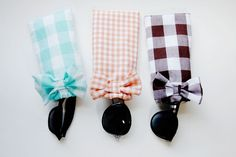 DIY sunglasses case - These would be so easy to make too! Can even use material remnants from past projects, which makes this even better!