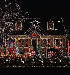 Top 46 outdoor christmas lighting ideas illuminate the holiday 15 colorful and outrageously themed outdoor christmas lights christmas lights aloadofball Image collections