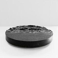 MATHIEU LEHANNEUR  OCEAN MEMORIES CIRCULAR LOW TABLE XXL (BLACK) | 2017
