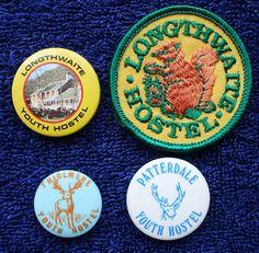 YHA Youth Hostels Association badges
