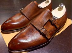 Would love a pair of double monk straps