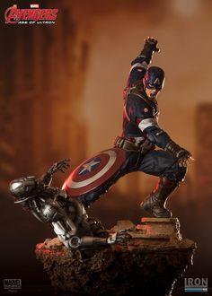 Avengers 2: Captain America - Diorama 1/6 - Iron Studios