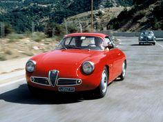 1960 Alfa Romeo Giulietta SZ