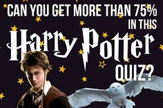 Only Harry Potter Nerds Can Get More Than 75% In This Quiz <---yep! 85%