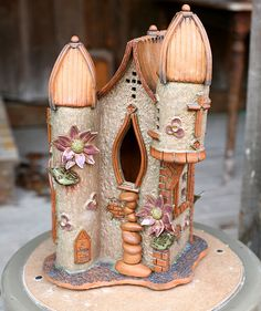 Whimsical Handbuilt Clay Birhouses with Mark Wingertsahn at the John C. Campbell Folk School | folkschool.org