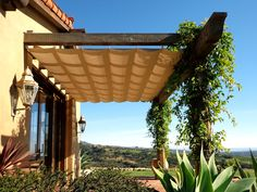 Slide Wire Canopy by Superior Awning | Southern California