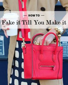 How to fake it til you make it   Levo League   #20somethings #career #advice Career Advice, Career Tips