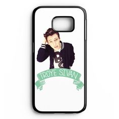 Troye Sivan Cover for Samsung Galaxy and HTC Case Blue Neighbourhood, Note 3 Case, Tyler Oakley, Troye Sivan, Samsung Galaxy Cases, Dan And Phil, The Ordinary, Other People, Youtubers