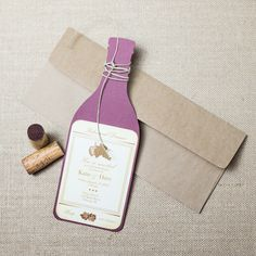 Unique wine rehearsal dinner invitations! Excellent for a wine themed dinner party or to please the wine connoisseurs, bride and groom, with a wine themed rehearsal dinner. Place your order online today!