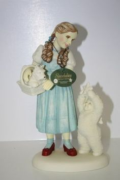 """I have a feeling we're not in Kansas anymore' Dorothy/Snowbabies Dept56 figurine. Measures approx 9"""" x 5"""" x 3 1/4"""". In excellent condition. From 1998 Premier Edition.  $30.00 FREE SHIPPING"""
