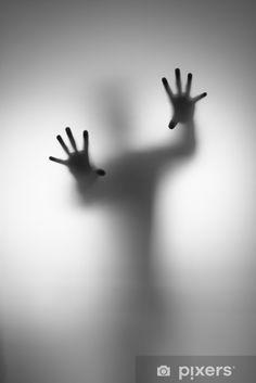 Ghosts Hand Door Sticker - Men