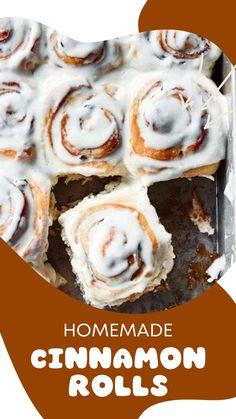 Breakfast Pastries, Sweet Breakfast, Breakfast Dishes, Breakfast Pancakes, Best Cinnamon Rolls, Cinnamon Recipes, Drip Cake Recipes, Baking Recipes, Sweet Desserts
